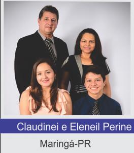 Claudinei e Eleneil Perine