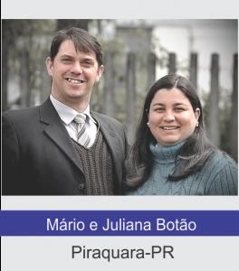 Mário e Juliana Botão