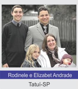 Rodinele e Elizabet Andrade