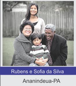 Rubens e Sofia da Silva