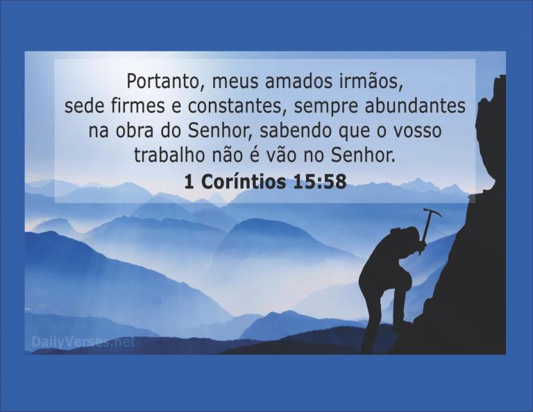 1 COrintios 15.58 - 3