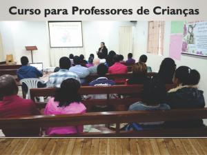 Curso para professores de Crianças - Ministerio na África - Carrosel site -