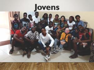 Jovens - Ministerio na África - Carrosel site -