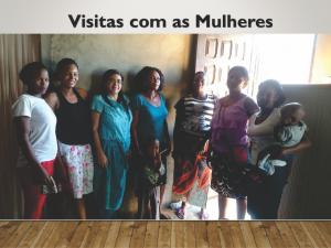 Visitas com mulheres - Ministerio na África - Carrosel site