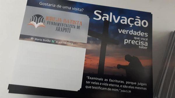 Folhetos Evangelísticos - 1