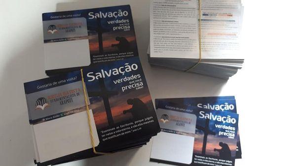 Folhetos Evangelísticos - 2 -