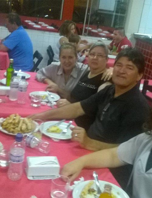 Almoço - Pr Celso e irmãos