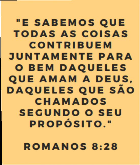 Versículo Romanos 8.28